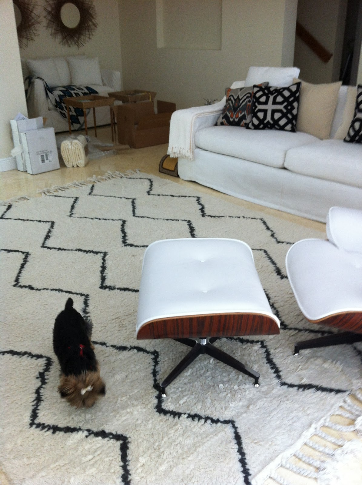 amazing same room different angles with souk rug west elm.