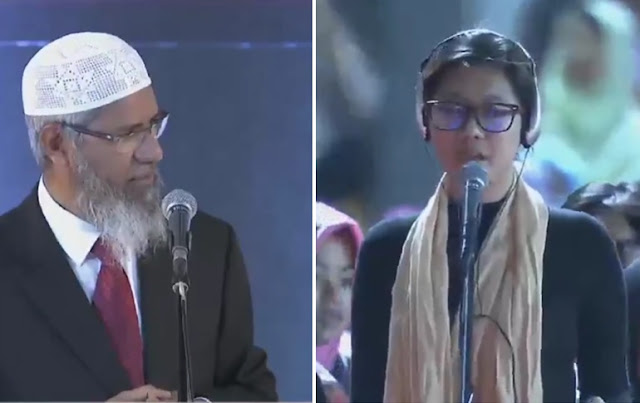 """Pertanyaan """"Kelas Berat"""" Terjawab Dr Zakir Naik, Wanita Ini Masuk Islam"""
