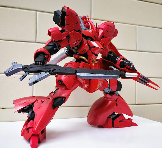 [Accessory Analysis] Bandai HG 1/144 Long Rifle (Gundam Ace Issue No. 195 Supplement) - Painted Build