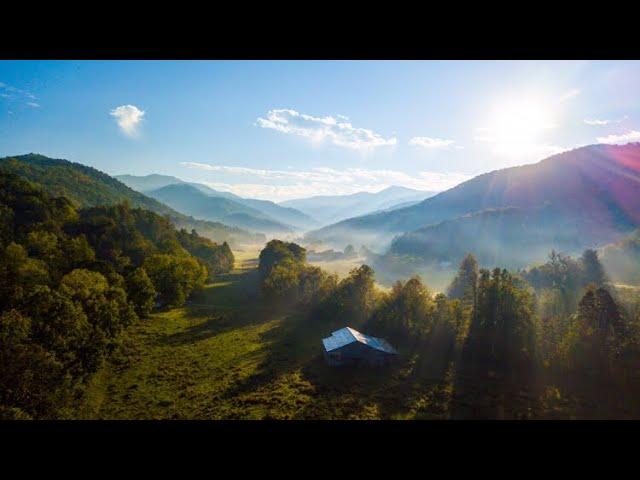 4K Cinematic DJI Mavic Pro Footage - Mountain Farm