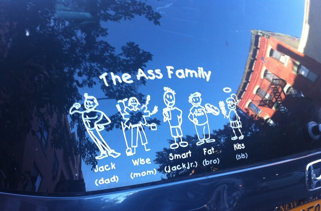 meet the ass family