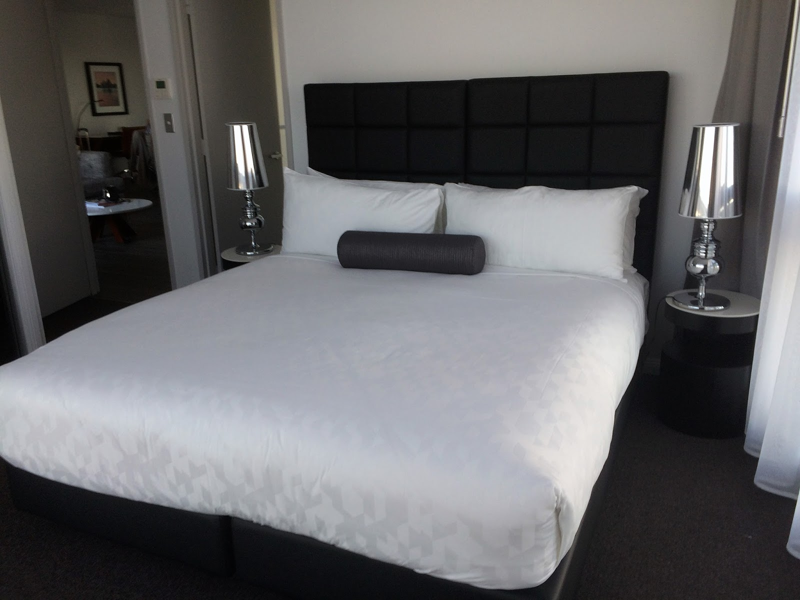 Meriton Church Street Parramatta Bed