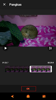 Memotong Video Melalui Android