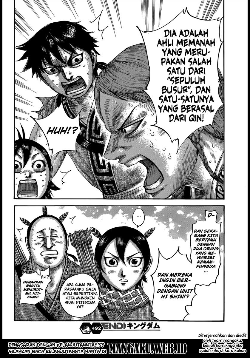 Baca Komik Manga Kingdom Chapter 492 Komik Station