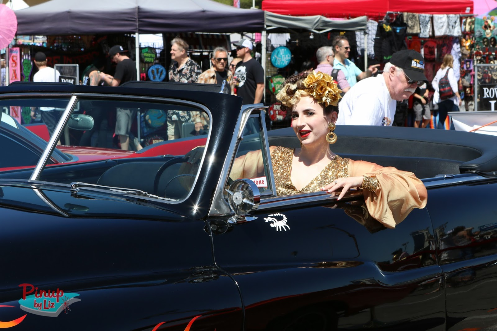 Pinup By Liz Viva Las Vegas Rockabilly Weekend Car Show - Car show in vegas today