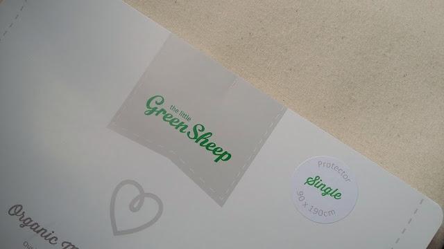 The Little Green Sheep Mattress Protector Blog Review