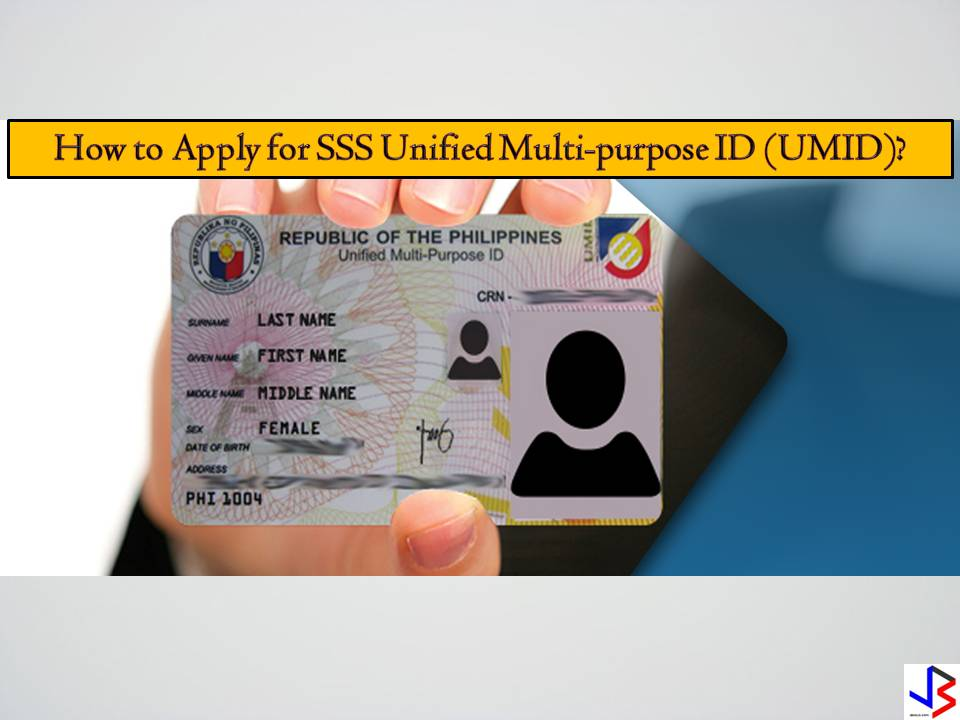 Hassle no more for those people who don't want to bring a lot of IDs in processing in different government agencies and etc. All they need is Unified Multi-Purpose ID or UMID. And it's very simple for fast, secure and easy access. UMID stands for Unified Multi-Purpose ID where it considered one of the valid IDs in the Philippines.   ⦁ This is a 4 in 1 ID that you could use it to transact in agencies like SSS, GSIS, PhilHealth and Pag-Ibig; and  ⦁ Easier for you to apply loan, cash advance and check your status information in just one tap of your UMID