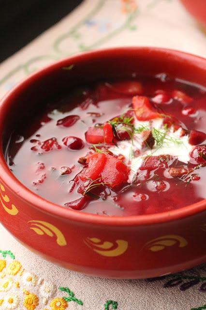 soupe russe jarret de boeuf