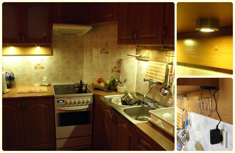 """Elektronika Plus  elektronika i oświetlenie LED : Oświetlamy kuchnię- cz.1: """"Ciemność, widzę ..."""