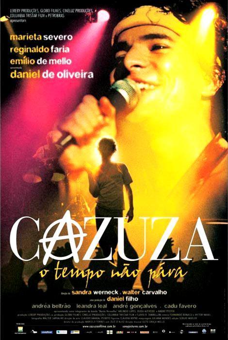 Cazuza: El tiempo no para - Historia de una vida - PELICULA - Brasil - 2004