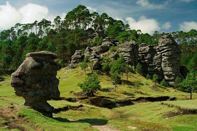 Piedras encimadas, un lugar para disfrutar