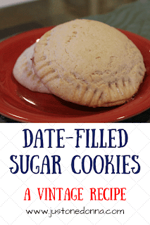 Vintage Date-Filled Sugar Cookies