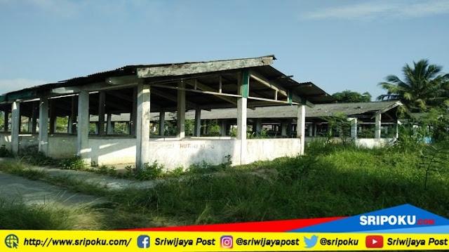 80 Lokal Bangunan Terbengkalai, Pasar Kedomongan Kayuagung