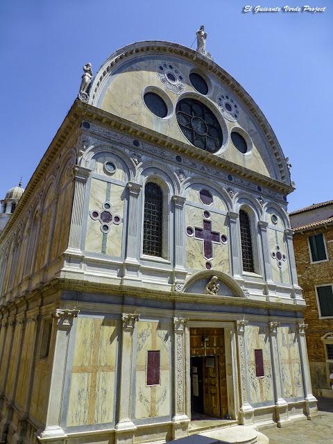 Santa María de los Milagros - Cannregio, Venecia por El Guisante Verde Project