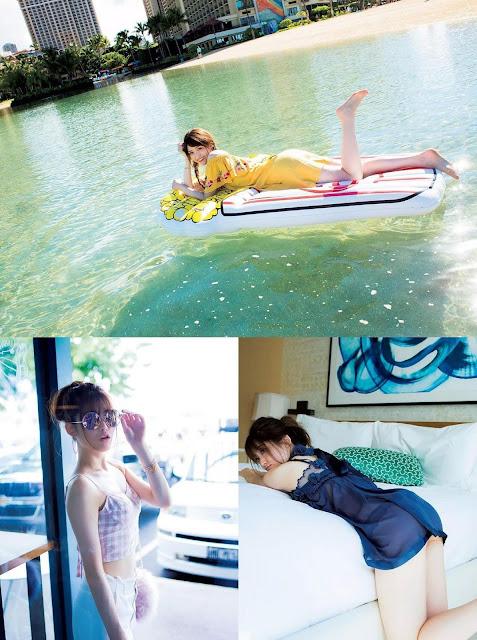 Matsumura Sayuri 松村沙友理 fall in love