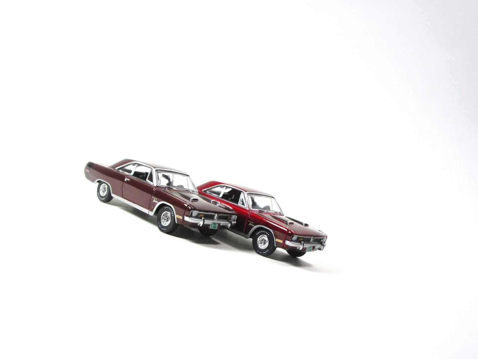 Regular vs chase auto world release 5 1971 dodge dart for Chaise auto