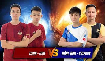 CSDN - U98 vs Hồng Anh - Chipboy | 2vs2 Random | 26/05/2021