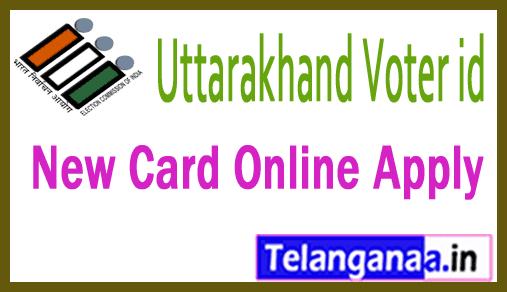 Uttarakhand New Voter Id Card Online Apply
