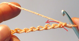 Slip Stitch Tutorial - back loop