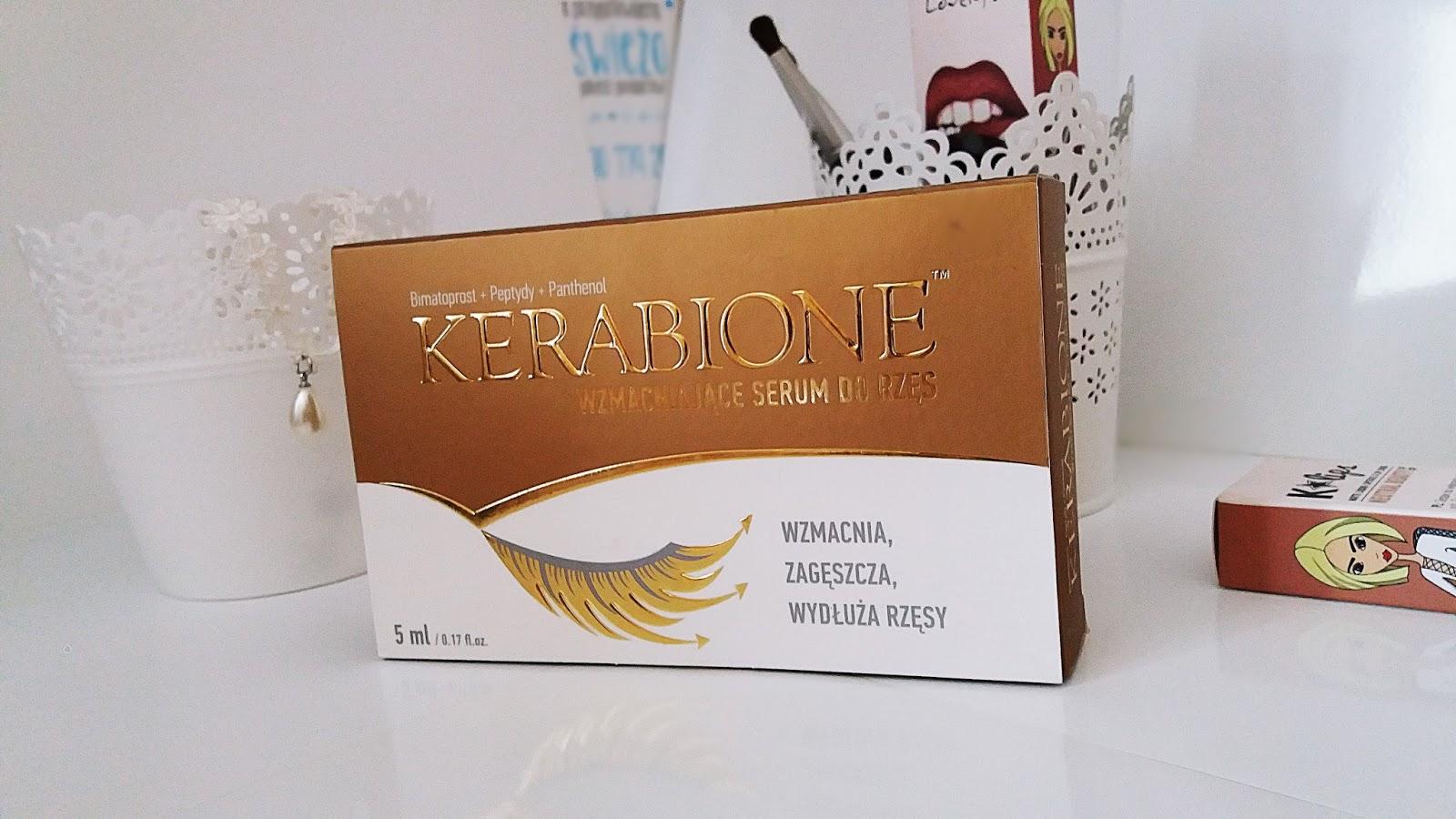 Recenzja serum do rzęs od Kerabione
