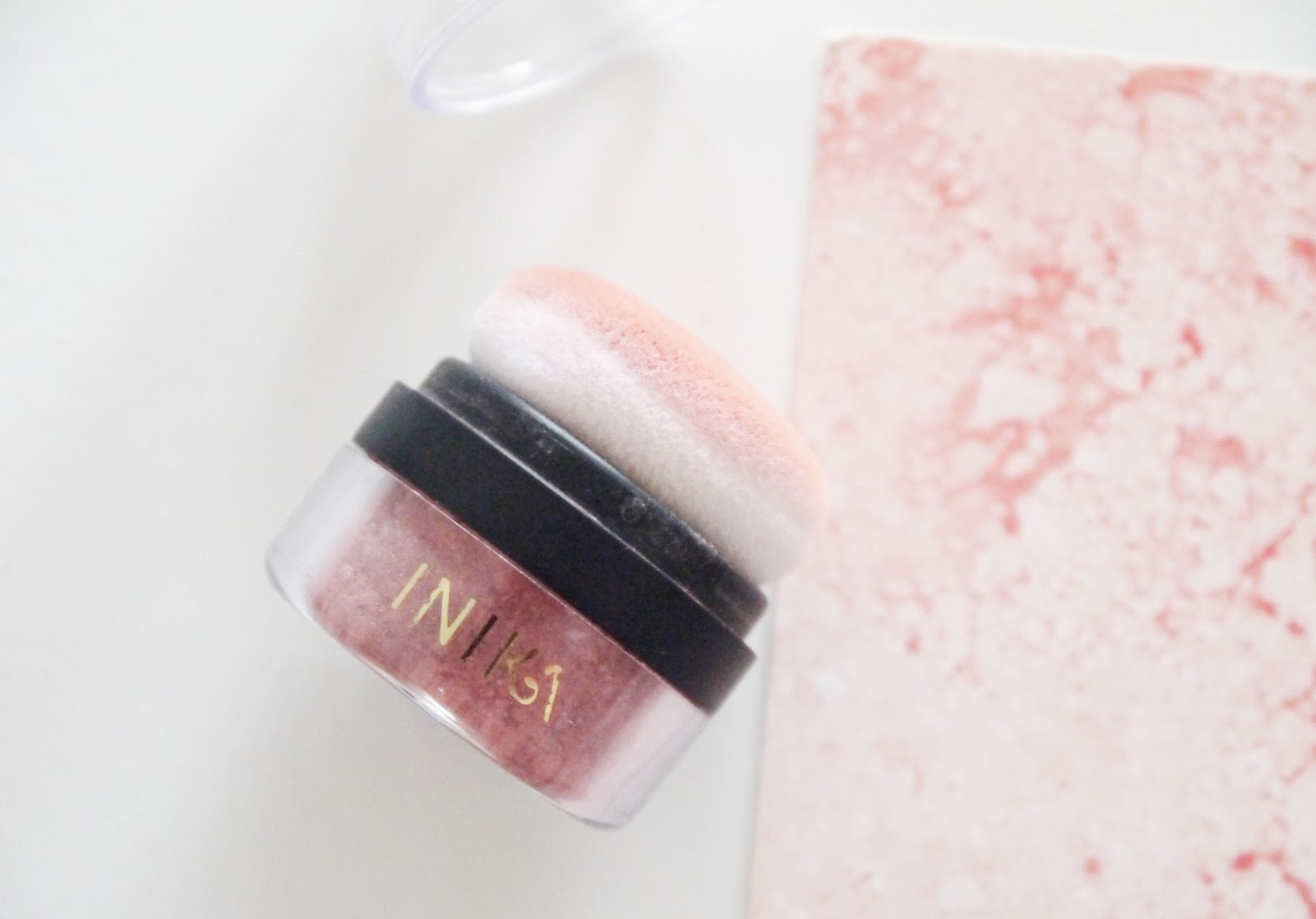 Inika Mineral Blush Puff Pot  review