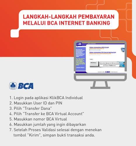 Tata Cara Pembayaran VA Bank BCA melalui Internet Banking BCA