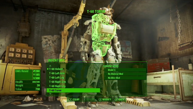 Fallout 4 Power Armor modification custom Bethesda