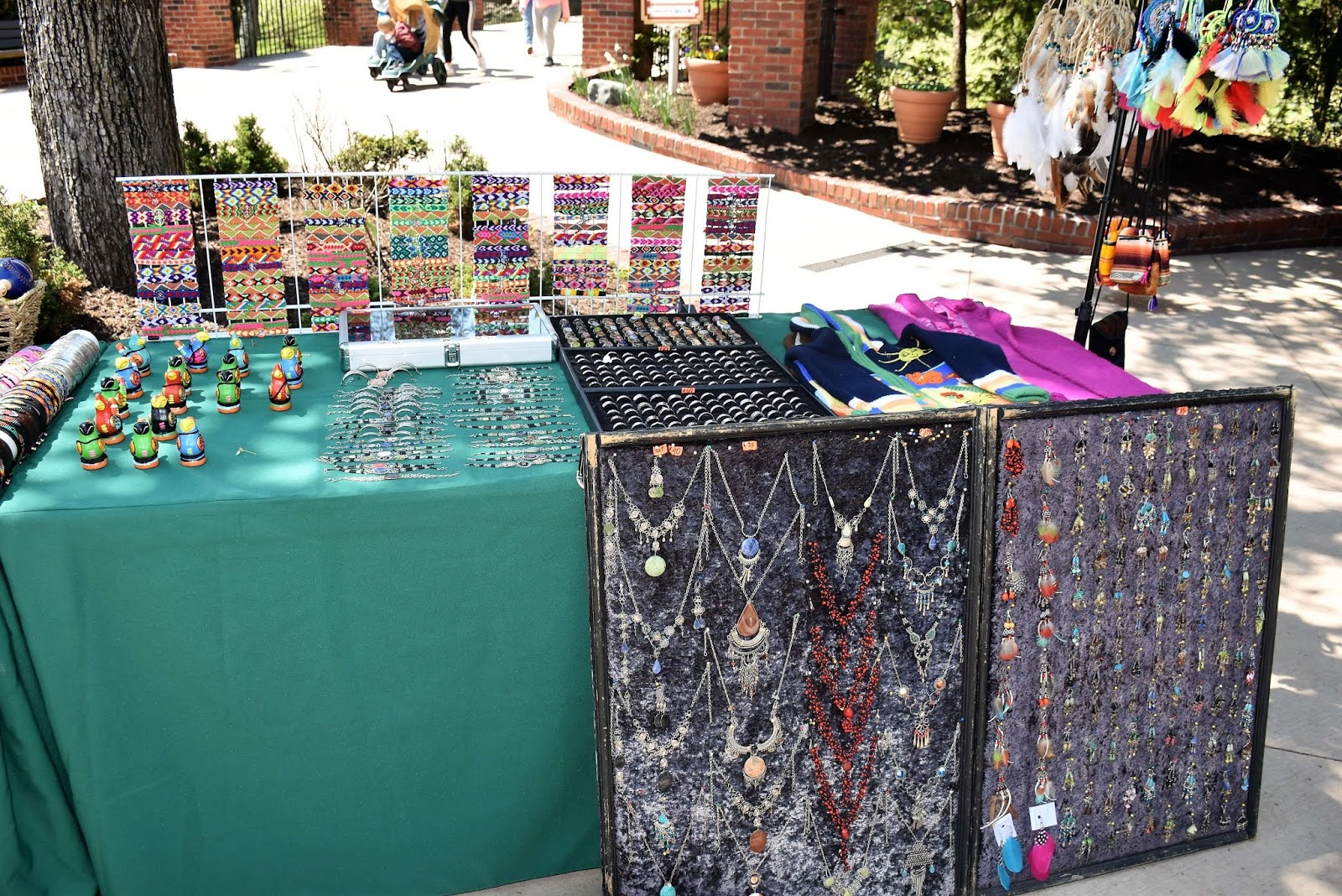 Dollywood's Festival of Nations Authentic Artisan Merchandise
