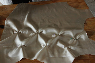 using fabric manipulation to create a shaped bodice