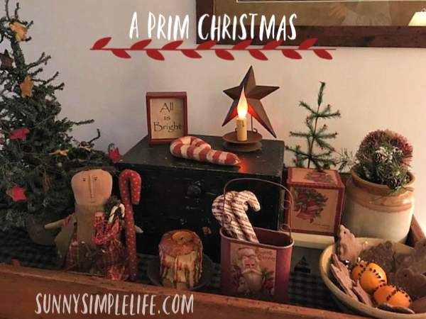 primitives, prim Christmas trees