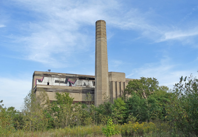 Abandoned Wyman-Gordon Power Plant in Dixmoor Illinois