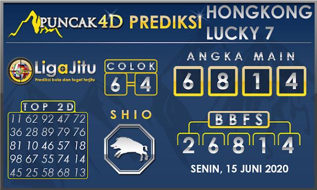 PREDIKSI TOGEL HONGKONG LUCKY 7 PUNCAK4D 15 JUNI 2020