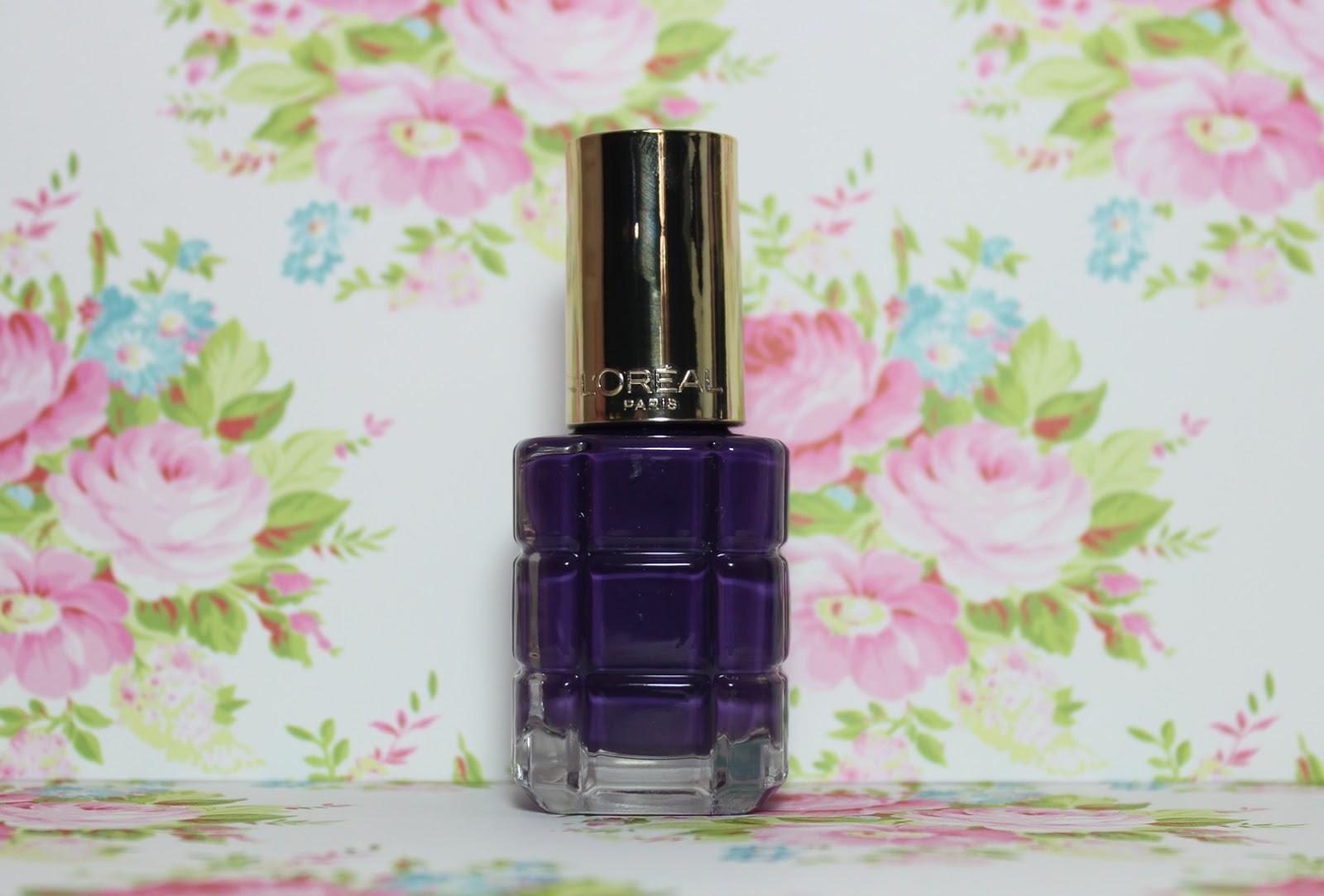 L'Oreal Color Riche Nail Polish Violet De Nuit