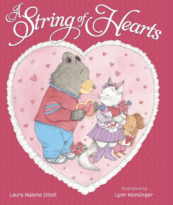 The String of Hearts: Book Reviews and Activities #gradeonederful #valentines #valentinebooks