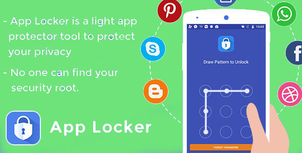 Download App locker - Protect data app source code