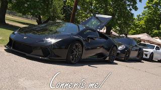 Lamborghini Huracon Underground Racing Parked