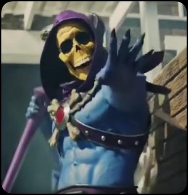 He-man vs Esqueleto