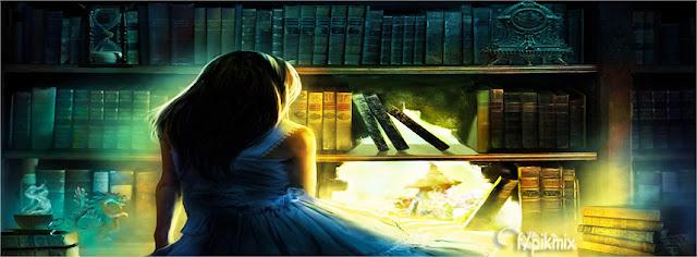 El librero | Portada para facebook | mujer