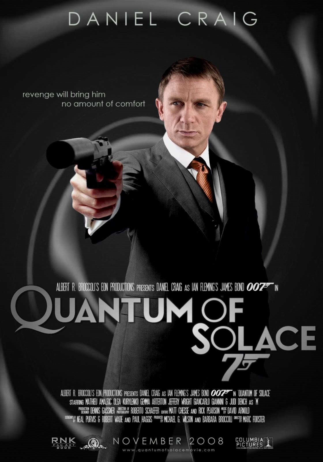 RNK Fan Art: Bond - The Daniel Craig Collection Part Five ...