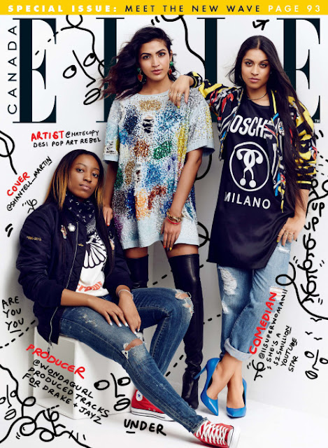 Elle Canada ft Superwomen, Hatecopy & wondagurl