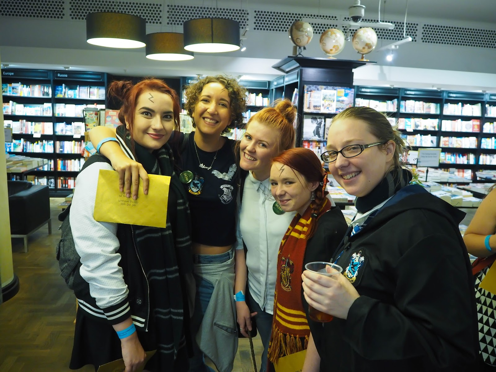 Harry Potter book bloggers