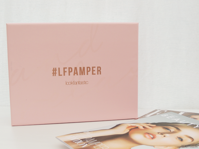 Lookfantastic Beauty box octobre 2016 pamper edition lfpamper revue avis test