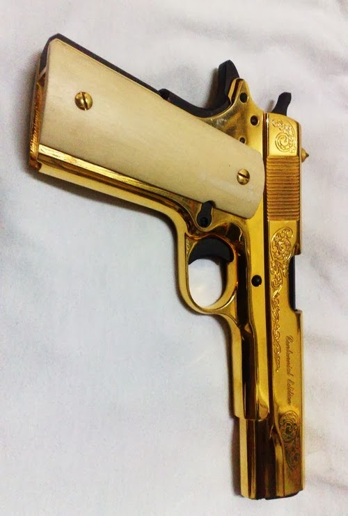 MyGunDiary com - Gun Blog: Gold Plated Guns?