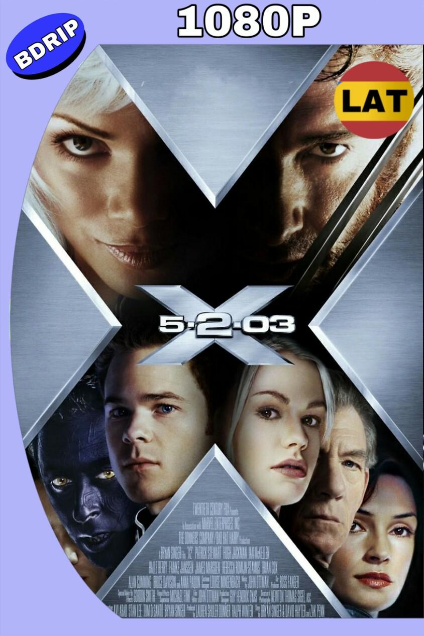 X-MEN 2 (2003) BDRIP 1080P LAT-ING MKV