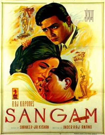 Sangam 1964 Full Hindi Movie BRRip Free Download