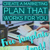 Create a Marketing Plan That Works For You—Free Template Download!