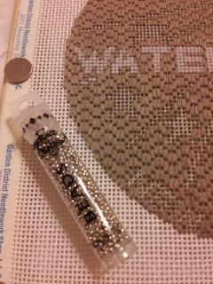 Sheila NOLA Water Meter needlepoint
