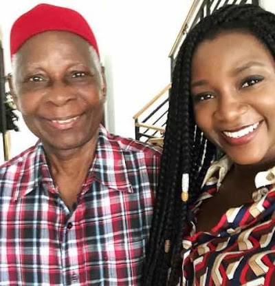 Spot the difference! Actress Genevieve Shares Adorable photo with Her Father