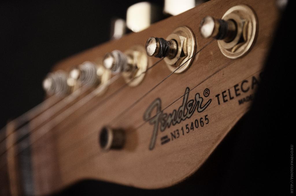 Fender Telecaster и Ibanez