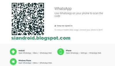 Cara Melihat Kode batang QR akun WhatsApp